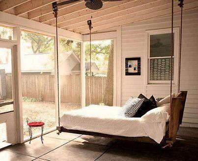 lit suspendu. Black Bedroom Furniture Sets. Home Design Ideas